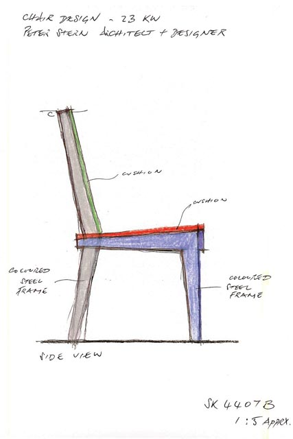 ARAWAK Chair © Peter Stern Furniture Design