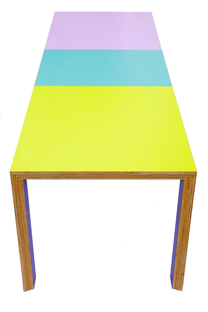 CORA Table (Extended) © Peter Stern Furniture Design