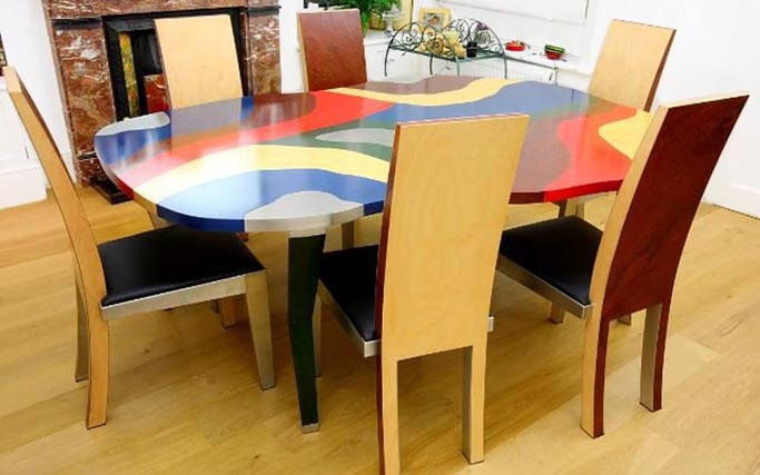 DAKOTA Table © Peter Stern Furniture Design