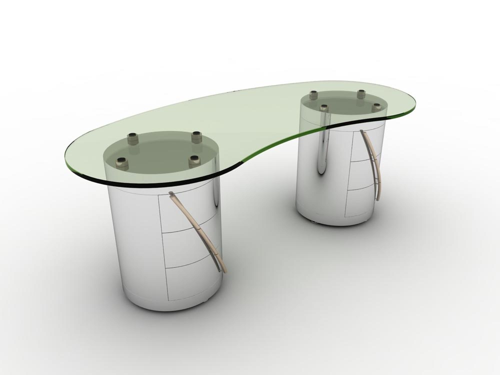 PIMLICO Desk © Peter Stern Furniture Design