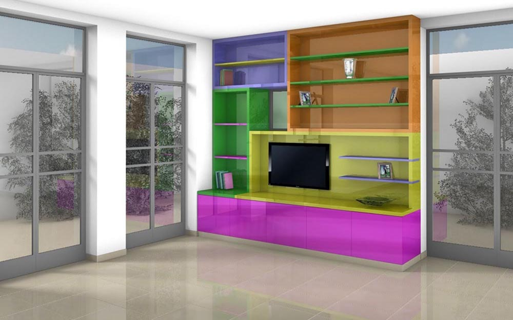 Built-In-Furniture © Peter Stern Furniture Design