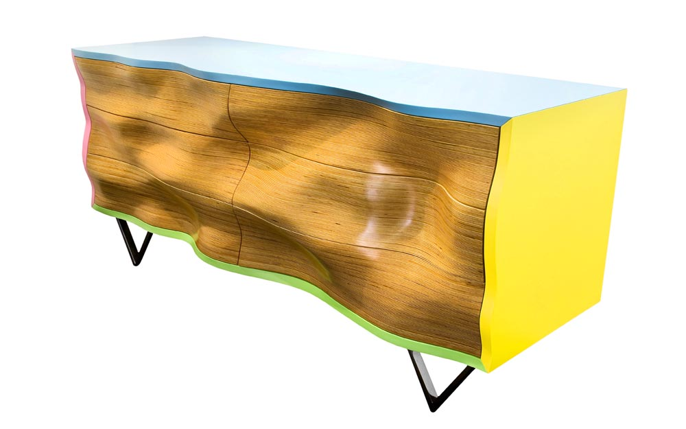 WAVY C2 Console © Peter Stern Furniture Design