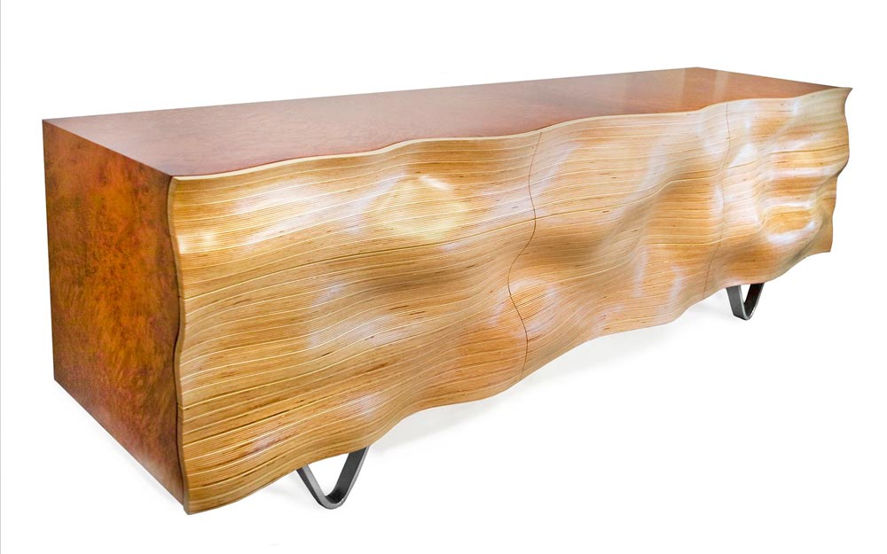 WAVY C3 Console © Peter Stern Furniture Design